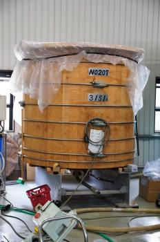 貯蔵タンク(ウィスキーの種類によりタンクが変わります)