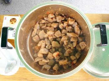 ピリ辛コンニャク煮