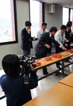 ニュース(NHK)にも取り上げられました