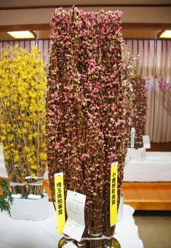 県知事賞・町長賞の新井さんの「矢口桃」